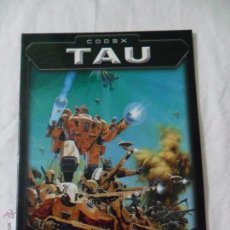 Juegos Antiguos: GAMES WORKSHOP, CODEX TAU. Lote 51105753