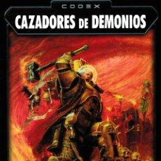 Juegos Antiguos: CODEX CAZADORES DE DEMONIOS. Lote 51342946