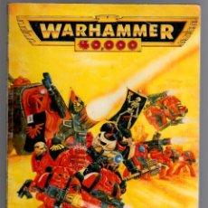 Juegos Antiguos: WARHAMMER 40000 MANUAL DE EQUIPO BOX34. Lote 51450334