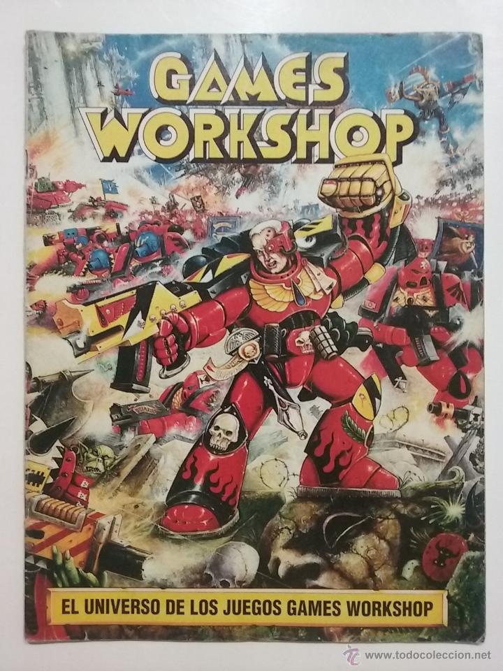 EL UNIVERSO DE LOS JUEGOS GAMES WORKSHOP - WARHAMMER - REVISTA GUIA INTRODUCCION (Juguetes - Rol y Estrategia - Warhammer)