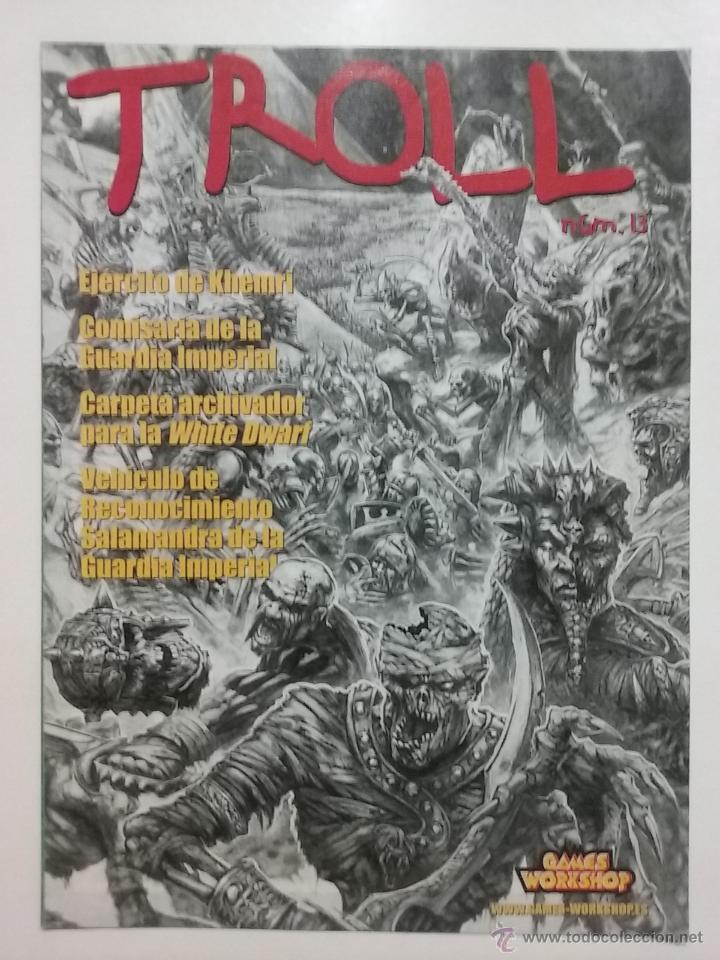TROLL Nº 13 GAMES WORKSHOP REVISTA CATALOGO WARHAMMER (Juguetes - Rol y Estrategia - Warhammer)
