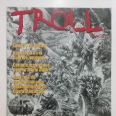 Juegos Antiguos: TROLL Nº 13 GAMES WORKSHOP REVISTA CATALOGO WARHAMMER. Lote 51727294