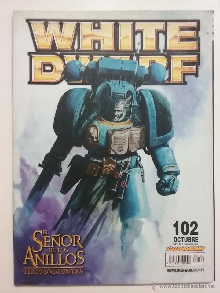 REVISTA WHITE DWARF NÚMERO 102 - ESPAÑOL - GAMES WORKSHOP (Juguetes - Rol y Estrategia - Warhammer)