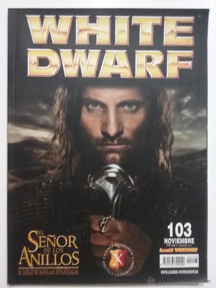 REVISTA WHITE DWARF NÚMERO 103 - ESPAÑOL - GAMES WORKSHOP (Juguetes - Rol y Estrategia - Warhammer)