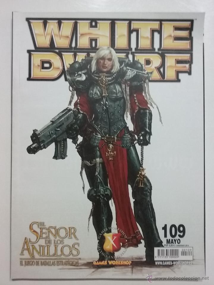 REVISTA WHITE DWARF NÚMERO 109 - ESPAÑOL - GAMES WORKSHOP (Juguetes - Rol y Estrategia - Warhammer)