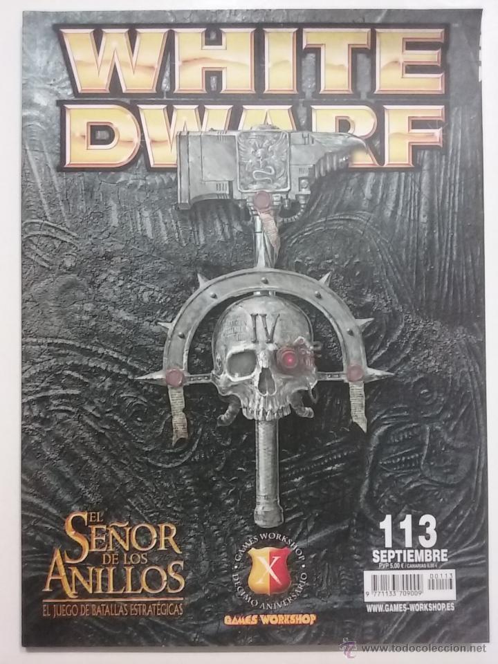 REVISTA WHITE DWARF NÚMERO 113 - ESPAÑOL - GAMES WORKSHOP (Juguetes - Rol y Estrategia - Warhammer)