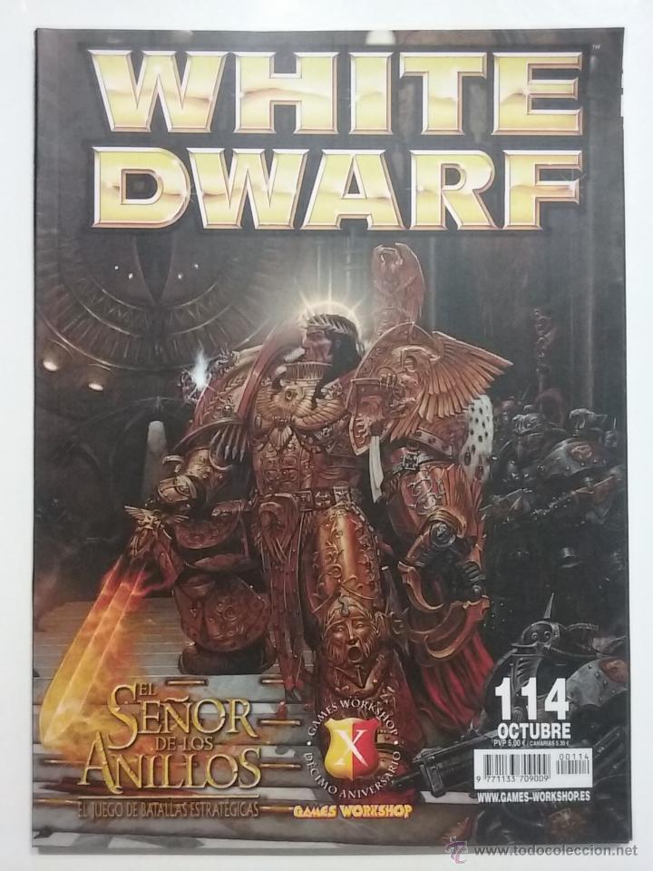 REVISTA WHITE DWARF NÚMERO 114 - ESPAÑOL - GAMES WORKSHOP (Juguetes - Rol y Estrategia - Warhammer)