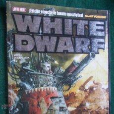 Juegos Antiguos: WHITE DWARF. Lote 52285344