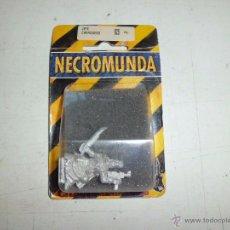 Juegos Antiguos: NECROMUNDA JEFE CARROÑERO NUEVO EN BLISTER DIFICIL DE ENCONTRAR. Lote 52763351
