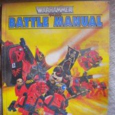 Juegos Antiguos: WARHAMMER. BATTLE MANUAL. 100 PAGINAS EN INGLES. Lote 52912682