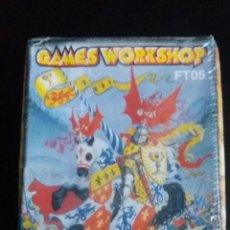 Jogos Antigos: 349 - GAMES WORKSHOP FT05 WARHAMMER KNIGHT CABALLERO Y ARQUEROS ARCHERS BOWMEN HEROQUEST. Lote 52934950