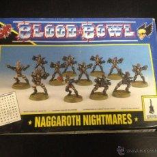 Juegos Antiguos: CAJA BLOOD BOWL NAGGAROTH NIGHTMARES GAMES WORKSHOP.. Lote 52941812