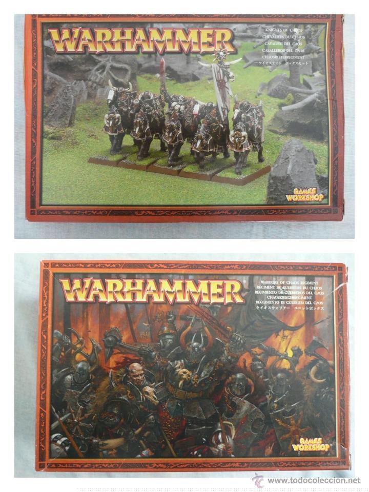 CABALLEROS DEL CAOS Y GUERREROS DEL CAOS WARHAMMER FANTASY (Juguetes - Rol y Estrategia - Warhammer)