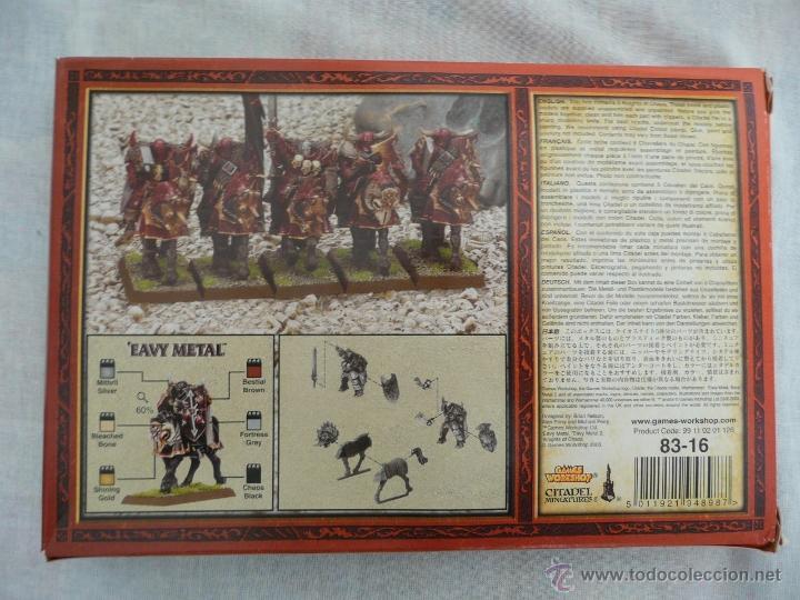 Juegos Antiguos: CABALLEROS DEL CAOS Y GUERREROS DEL CAOS WARHAMMER FANTASY - Foto 3 - 53068575