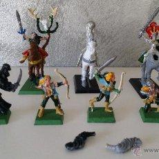 Juegos Antiguos: WARHAMMER ELFOS Y MAGOS. Lote 53673139