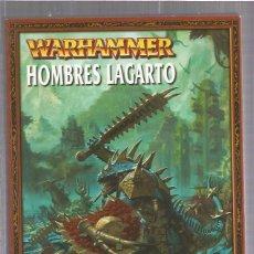 Juegos Antiguos: WARHAMMER HOMBRES LAGARTO. Lote 56086097