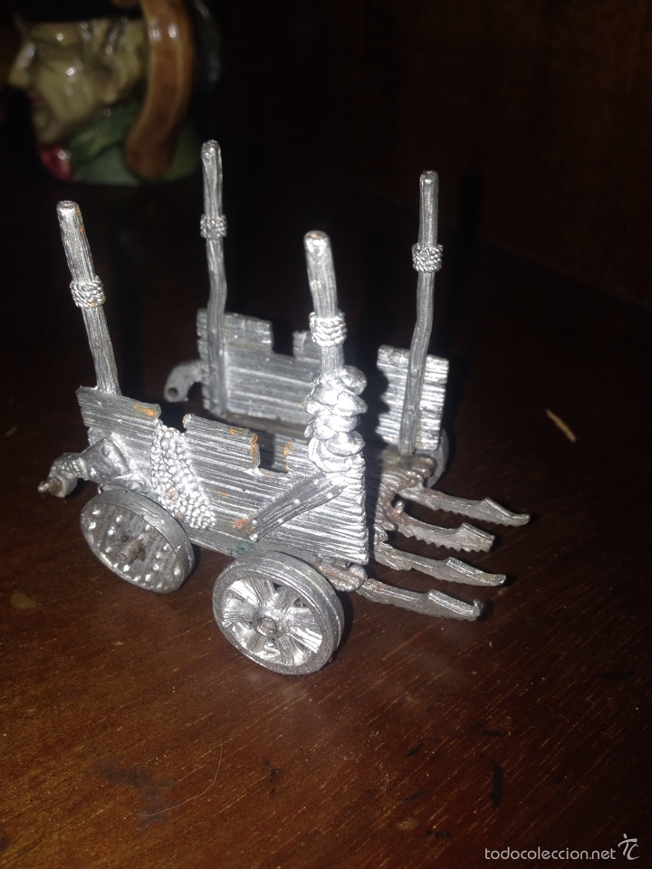 Carro de warhammer plomo segunda mano
