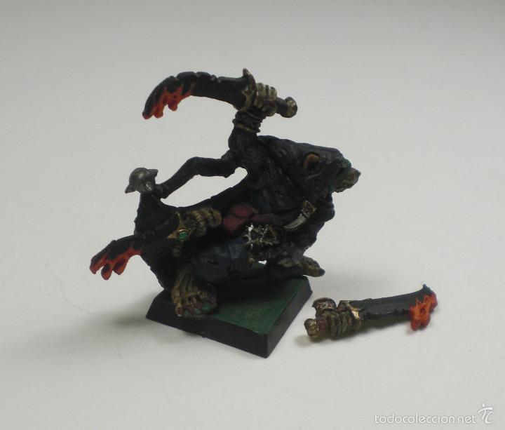 Juegos Antiguos: Games Workshop, Citadel, Warhammer. Snikch, asesino Skaven. Clasico. - Foto 2 - 88751660