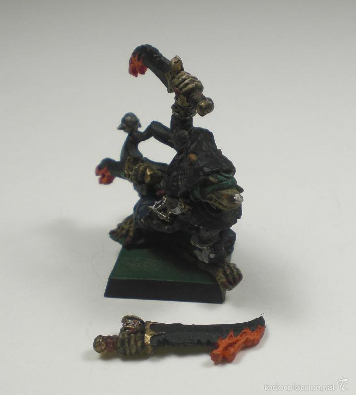 Juegos Antiguos: Games Workshop, Citadel, Warhammer. Snikch, asesino Skaven. Clasico. - Foto 3 - 88751660