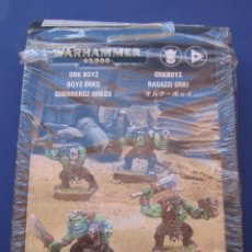 Jeux Anciens: WARHAMMER 40.000 GUERREROS ORKOS ORCOS. Lote 140151313