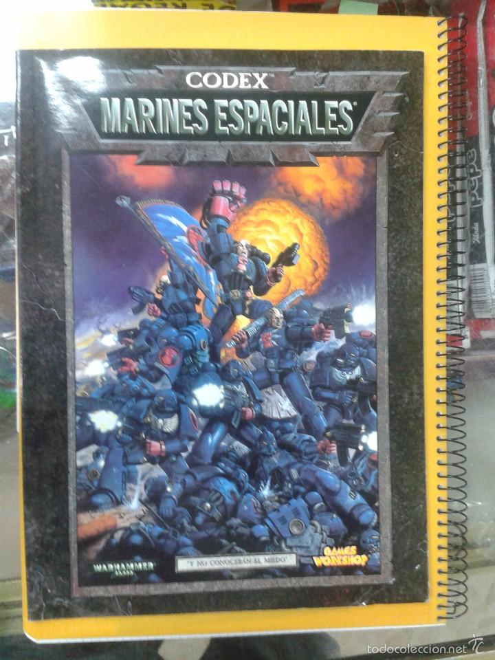 CODEX MARINES ESPACIALES. WARHAMMER 40000. GAMES WORKSHOP. (Juguetes - Rol y Estrategia - Warhammer)