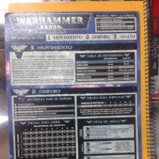 Juegos Antiguos: WARHAMMER TABLA RESUMEN. GAMES WORKSHOP.. Lote 56529665