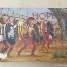 Juegos Antiguos: IMMORTAL MINIATURES HOPLITAS CLASSICAL GREEK. Lote 56655409