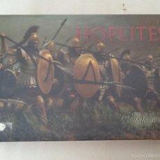 Juegos Antiguos: IMMORTAL MINUATURES HOPLITES SPARTAN, ESPARTANOS. Lote 56655933