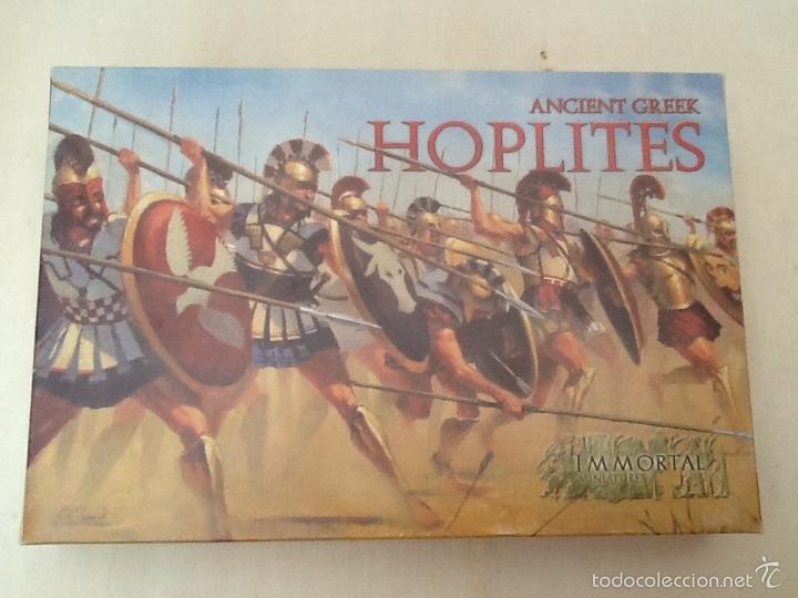 IMMORTAL MINIATURES HOPLITES ANCIENT GREEK (Juguetes - Rol y Estrategia - Warhammer)