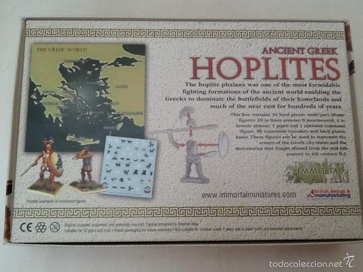 Juegos Antiguos: Immortal miniatures hoplites ancient greek - Foto 2 - 56659934