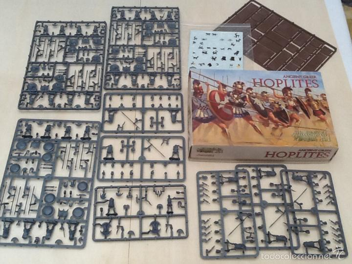 Juegos Antiguos: Immortal miniatures hoplites ancient greek - Foto 3 - 56659934