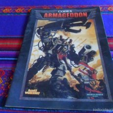Juegos Antiguos: CODEX ARMAGEDDON. WARHAMMER 40.000. GAMES WORKSHOP. . Lote 57992040
