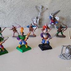 Juegos Antiguos: FIGURAS WARHAMMER ARQUEROS. Lote 59539715
