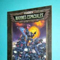 Juegos Antiguos: MARINES ESPACIALES. WARHAMMER 40000. CODEX. 40K. LIBRO EJÉRCITO.. Lote 59689647