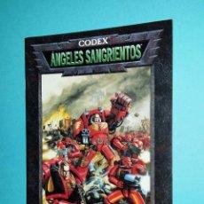 Juegos Antiguos: ÁNGELES SANGRIENTOS. WARHAMMER 40000. CODEX. 40K. LIBRO EJÉRCITO.. Lote 59689731