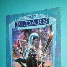 Juegos Antiguos: ELDARS. WARHAMMER 40000. CODEX. 40K. LIBRO EJÉRCITO.. Lote 59690043