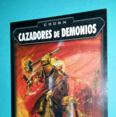 Juegos Antiguos: CAZADORES DE DEMONIOS. WARHAMMER 40000. CODEX. 40K. LIBRO EJÉRCITO.. Lote 59690447