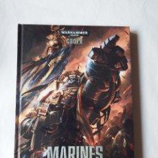 Juegos Antiguos: WARHAMMER 40000 CODEX MARINES ESPACIALES. Lote 60065283