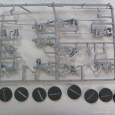 Juegos Antiguos: LOTE DE 10 FIGURAS DE PLASTICO DEL SEÑOR DE LOS ANILLOS : ORKOS MALOTES . SIN USAR. Lote 136769965