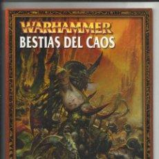 Juegos Antiguos: WARHAMMER: BESTIAS DEL CAOS, 2003, BUEN ESTADO.. Lote 61058015