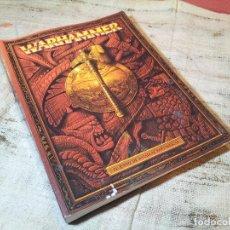 Juegos Antiguos: WARHAMMER. EL JUEGO DE BATALLAS FANTÁSTICAS. GAMES WORKSHOP, 2002. RÚSTICA. 288 PÁGINAS.. Lote 62228596