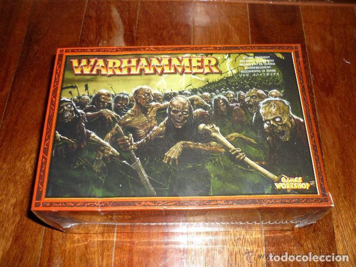 WARHAMMER ROL ESTRATEGIA REGIMIENTO ZOMBIES NUEVO BLISTER PERFECTO CITADEL (Juguetes - Rol y Estrategia - Warhammer)