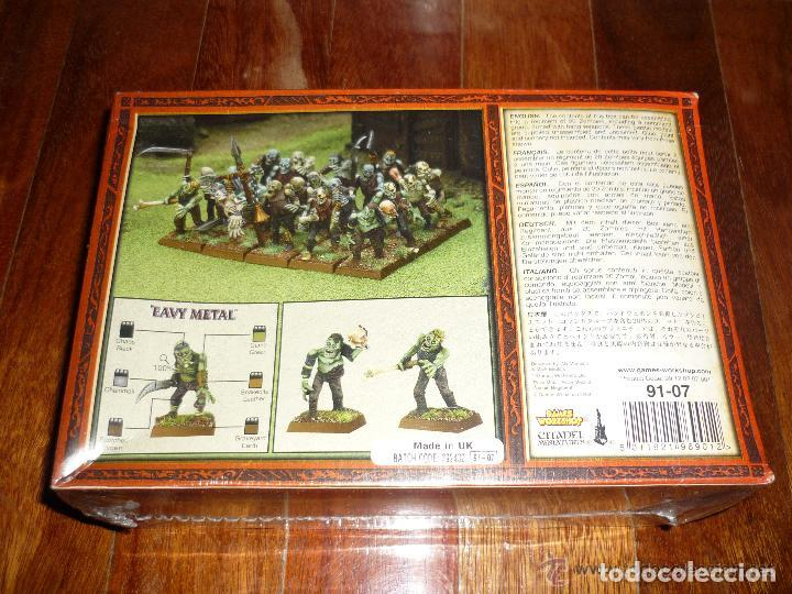 Juegos Antiguos: warhammer ROL ESTRATEGIA REGIMIENTO ZOMBIES NUEVO BLISTER PERFECTO CITADEL - Foto 2 - 62323924