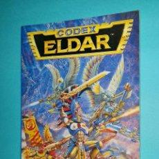 Juegos Antiguos: ELDARS. WARHAMMER 40000. CODEX. 40K. LIBRO EJÉRCITO.. Lote 63254172