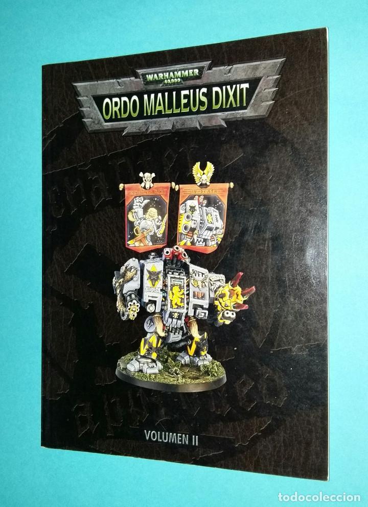 ORDO MALLEUS DIXIT II. WARHAMMER 40000. CODEX. 40K. LIBRO EJÉRCITO. segunda mano