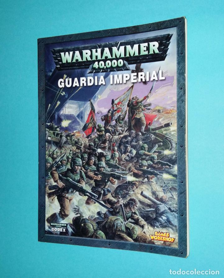 GUARDIA IMPERIAL. WARHAMMER 40000. CODEX. 40K. LIBRO EJÉRCITO. segunda mano