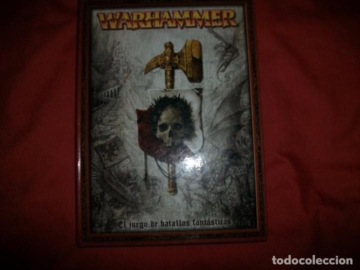LIBRO WARHAMMER - EL JUEGO DE LAS BATALLAS FANTÁSTICAS + WARHAMMER 40.000 (Juguetes - Rol y Estrategia - Warhammer)