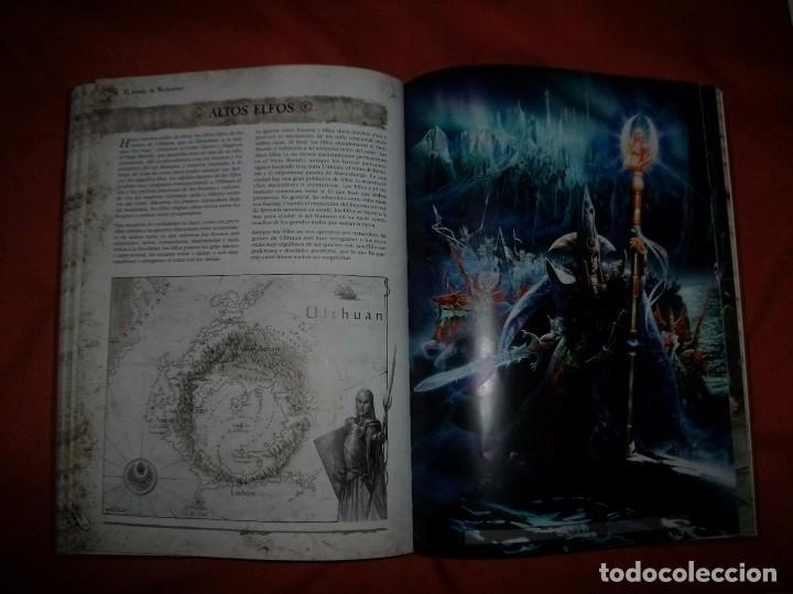 Juegos Antiguos: LIBRO WARHAMMER - EL JUEGO DE LAS BATALLAS FANTÁSTICAS + WARHAMMER 40.000 - Foto 2 - 64378943