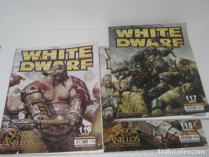 WHITE DWARF Nº 117-118-119 (Juguetes - Rol y Estrategia - Warhammer)