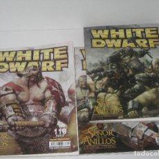 Juegos Antiguos: WHITE DWARF Nº 117-118-119. Lote 70253785